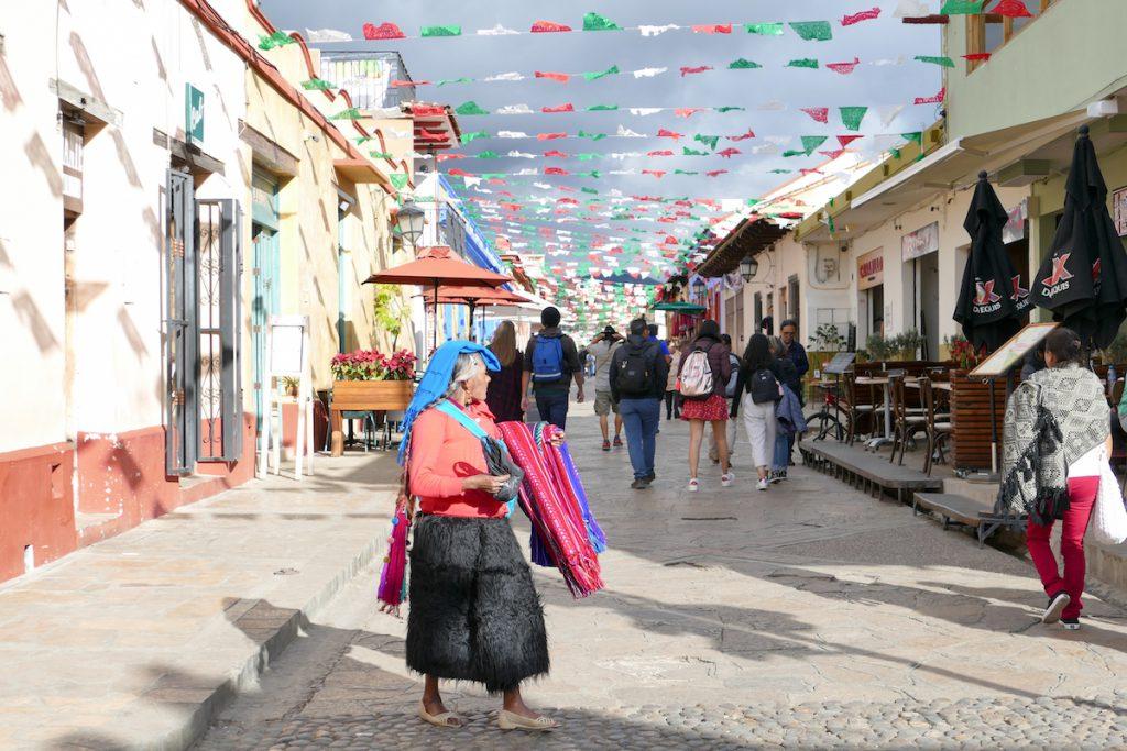San Cristobal, Real de la Guadalupe, die Fussgaengerzone