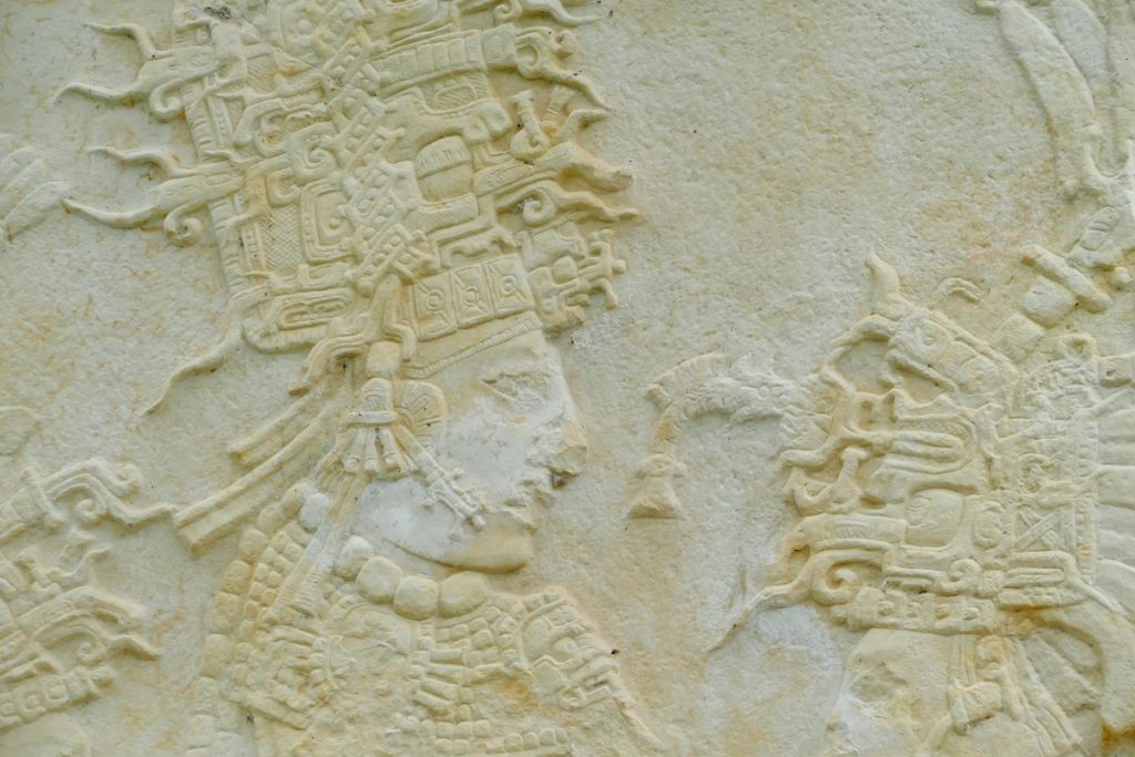 Palenque, Bonampark, Relief