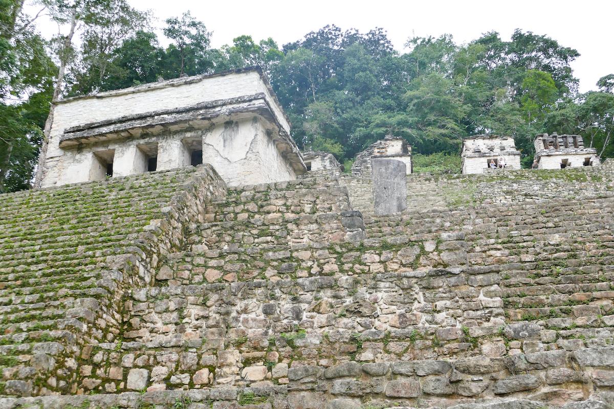 Palenque, Bonampark, beruehmt fuer seine Fresken
