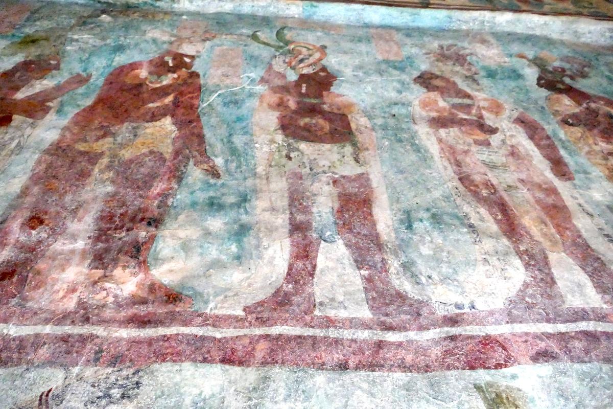Palenque, Bonampark, beruehmte Fresken