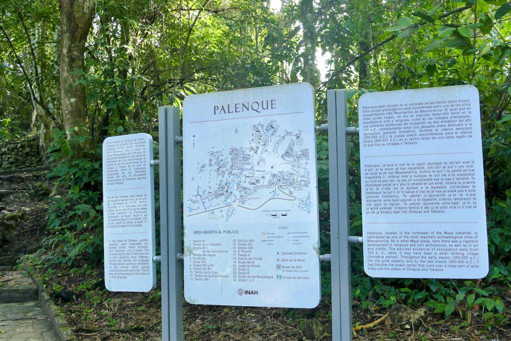 Palenque, Maya-Ruinen