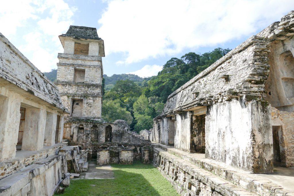 Palenque, Palast