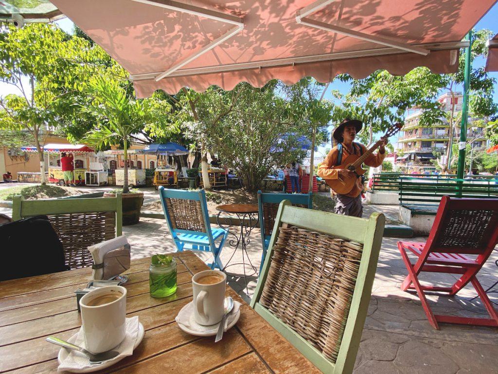 Palenque Stadt, entspannte Atmosphaere