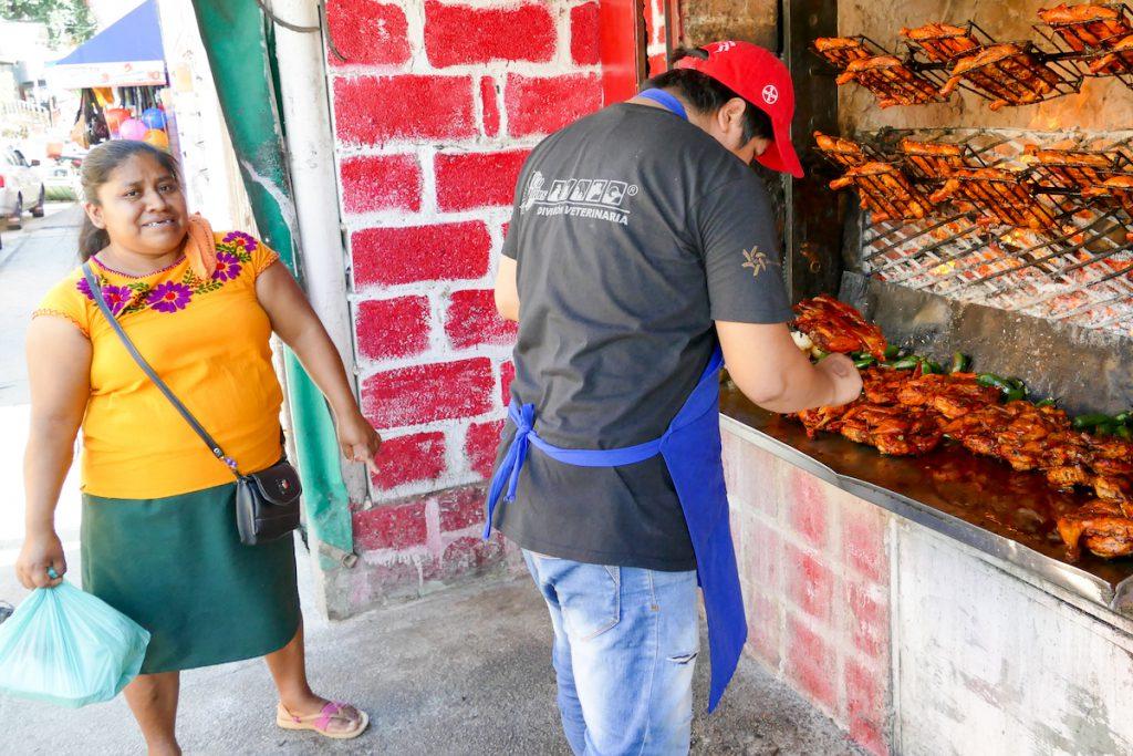 Palenque Stadt, unwiderstehlich