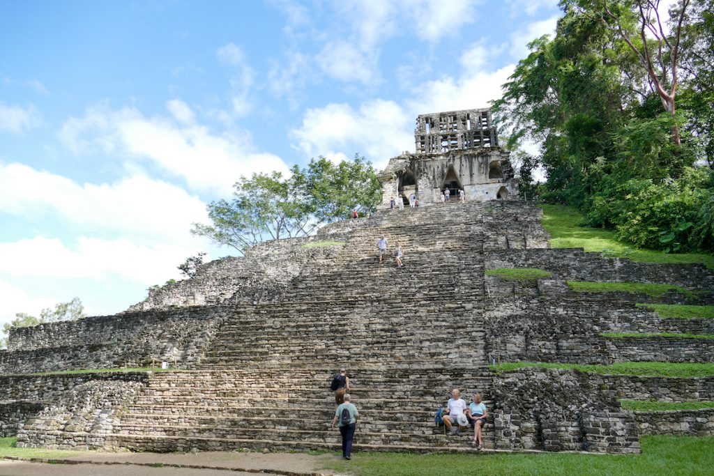 Palenque, Templo de la Cruz