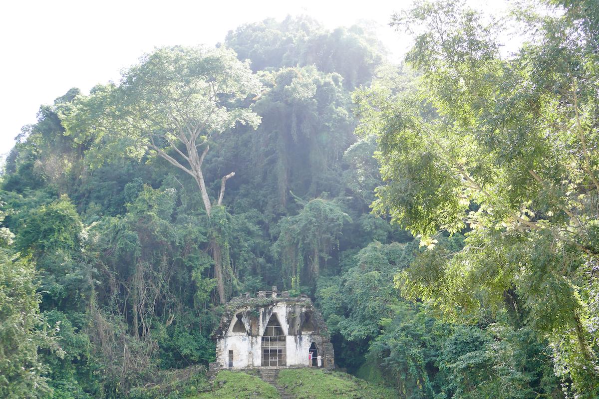 Palenque, Templo de la Cruz Foliada