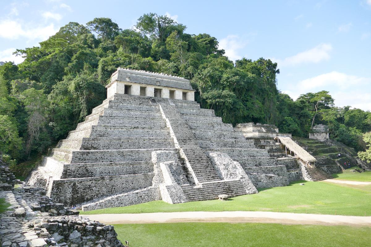 Palenque, Templo de los Inscripciones