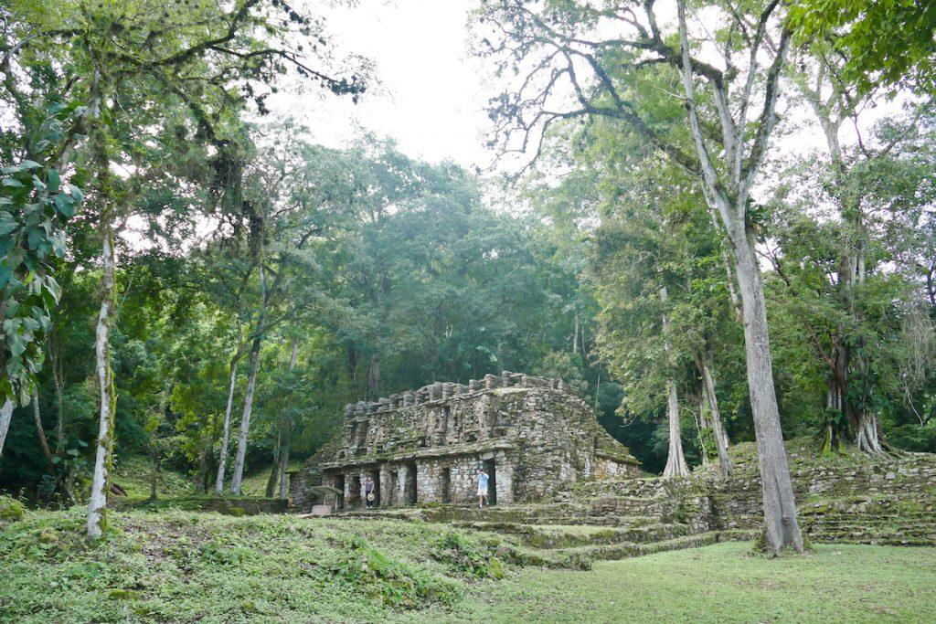 Palenque, Yaxchilan, das Labyrinth