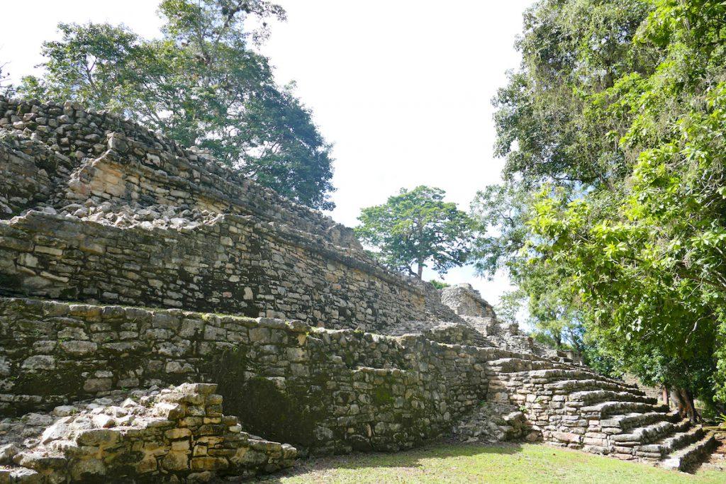 Palenque, Yaxchilan, die kleine Akropolis