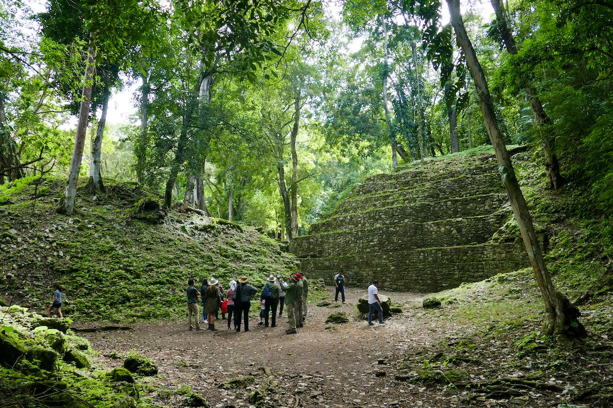 Palenque, Yaxchilan, entlegene Maya-Ruinen