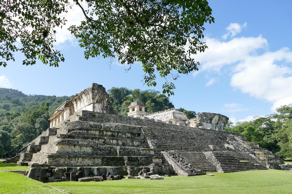Palenque, der riesige Palast