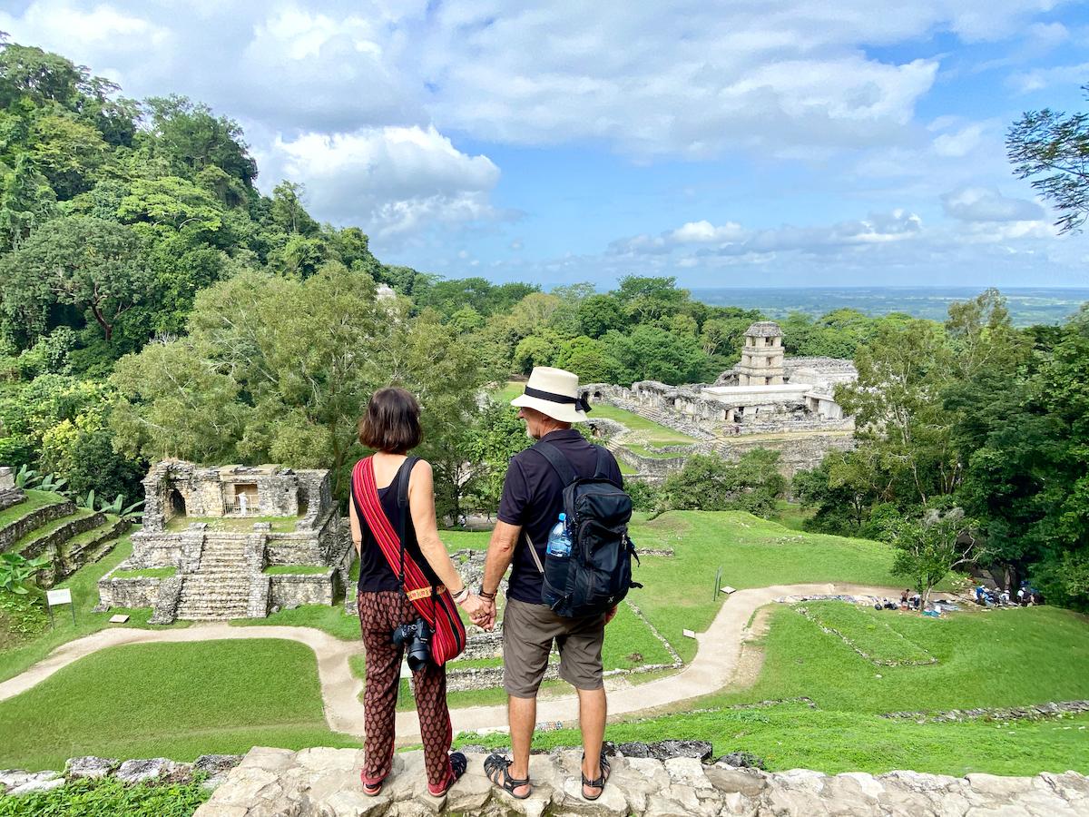 Palenque, wir sind begeistert von diesen Maya-Ruinen