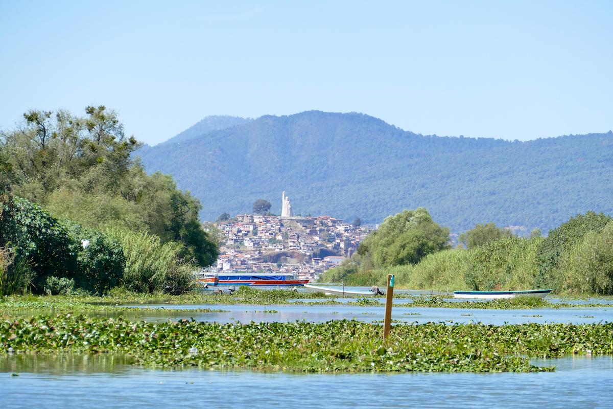 Patzcuaro-Lake, Ueberfahrt zur Isla Janitzio