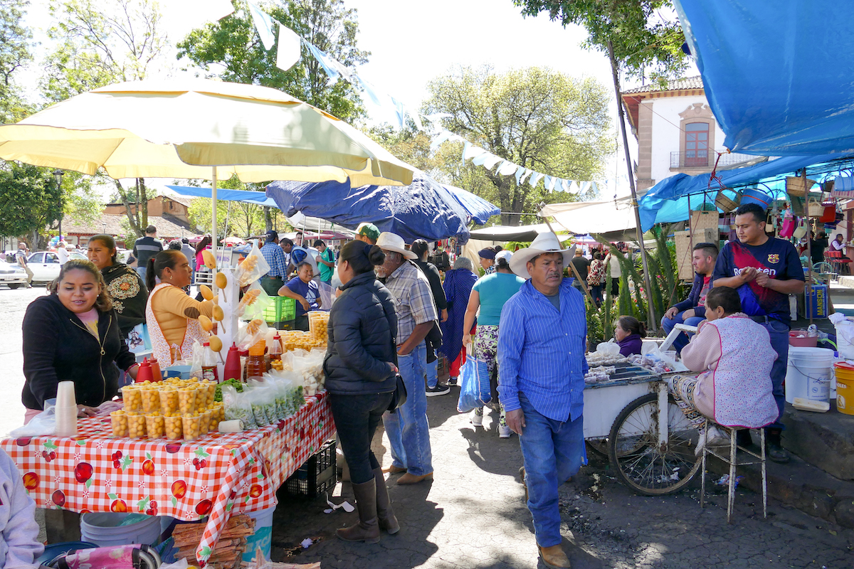 Patzcuaro, Marktbesuch