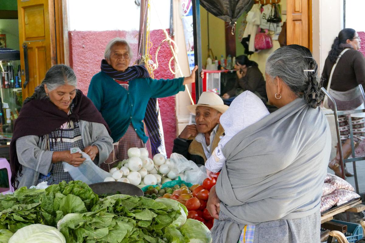 Patzcuaro, auf dem Markt
