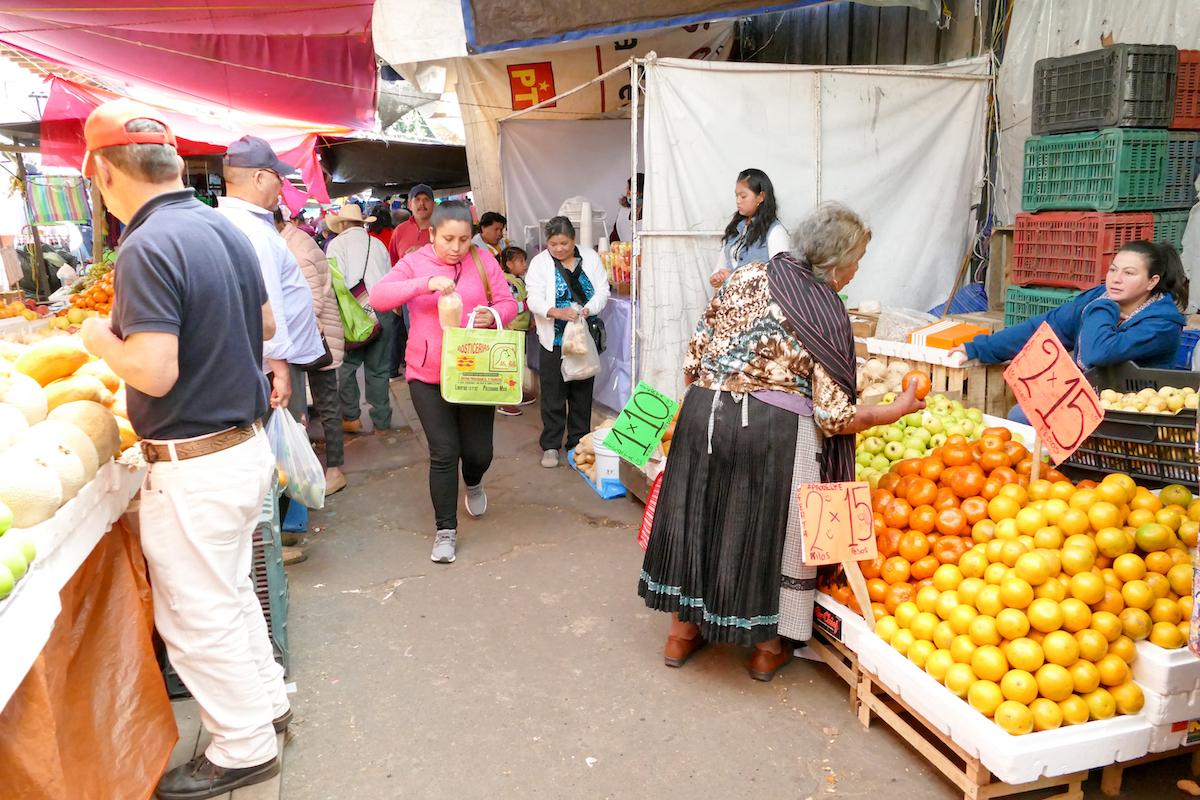 Patzcuaro, der lebhafte Markt