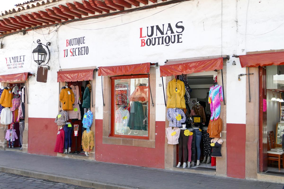 Patzcuaro, ein sehr einheitliches Stadtbild