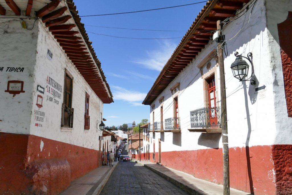 Patzcuaro, in der wunderschoenen Altstadt