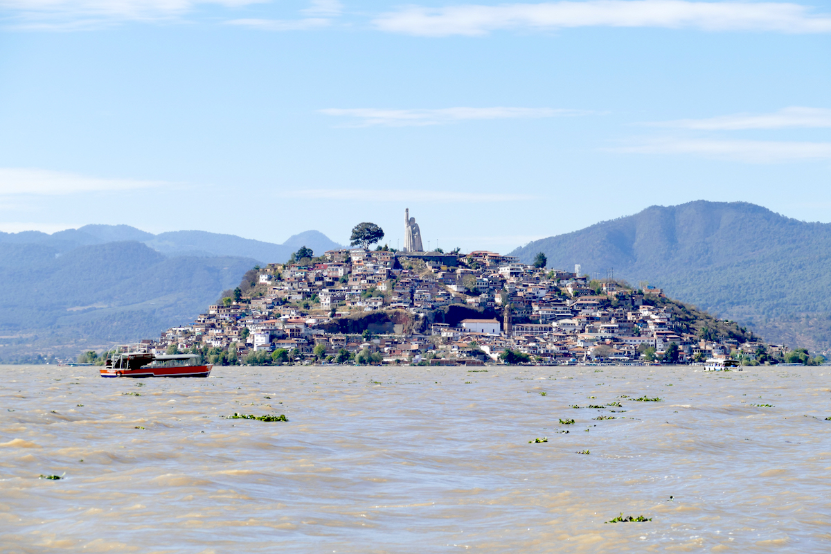 Patzcuaro-Lake, Janitzio und Moreleos