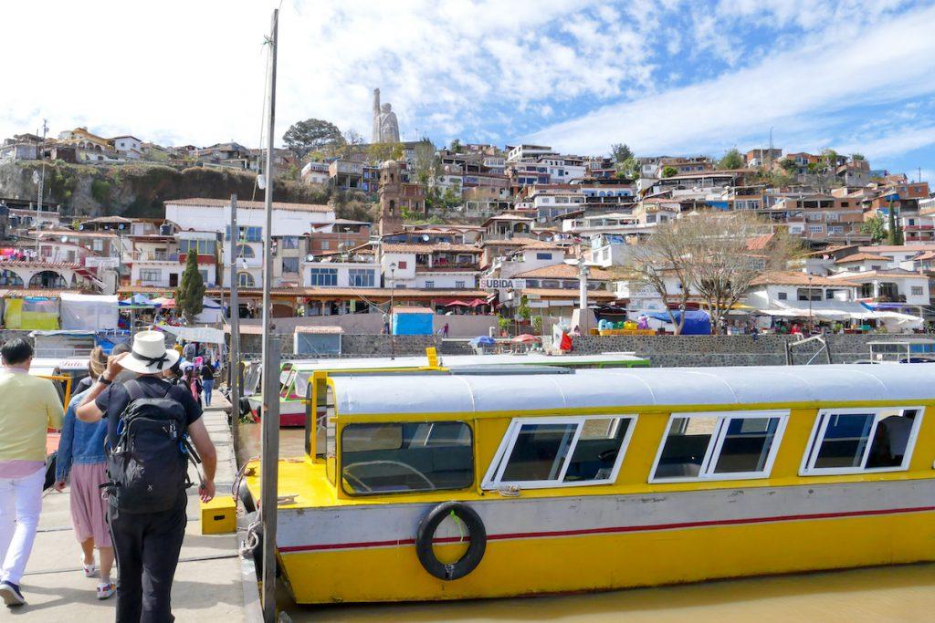 Patzcuaro-Lake, die Insel ist schnell erkundet