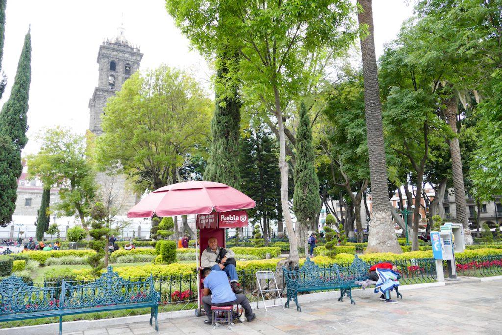 Puebla, Zocalo