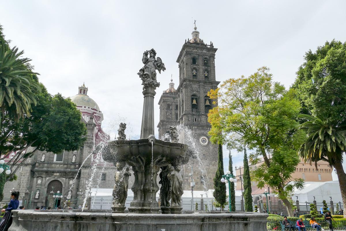 Puebla, die wunderbare Kathedrale