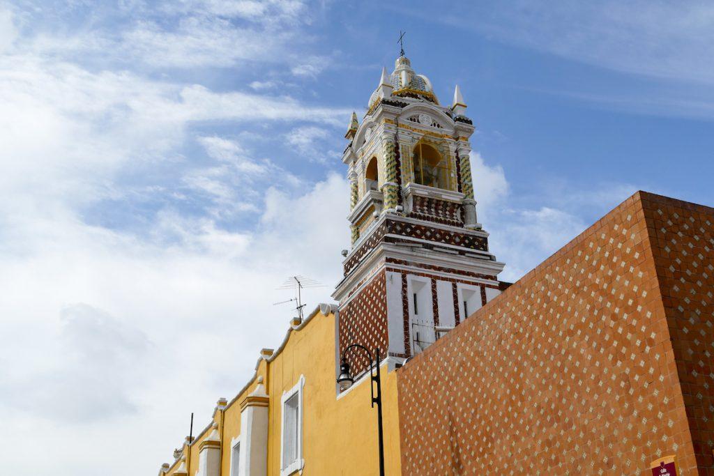 Puebla, eine von vielen Kirchen