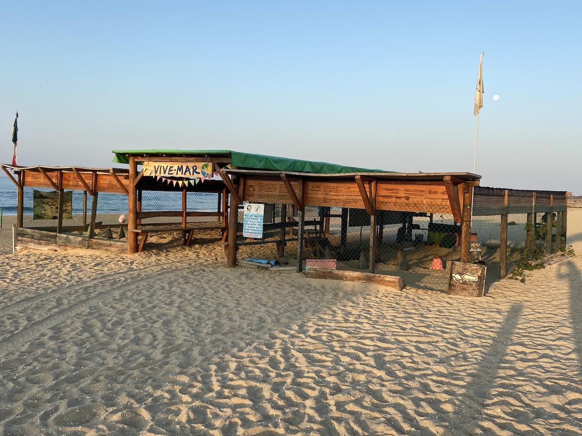 Puerto Escondido, Bacocho, Vive Mar, Schildkroetenschutzzentrum