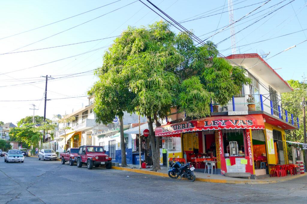 Puerto Escondido City, entspannt ist es hier