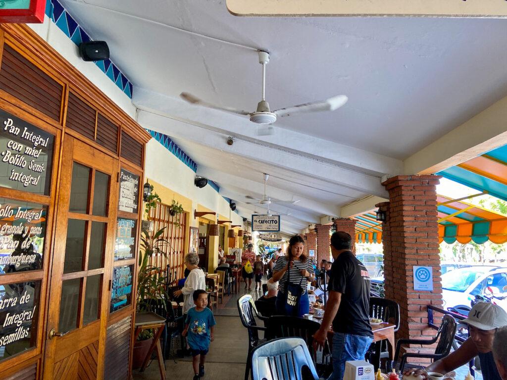 Puerto Escondido, Rinconada, im El Cafecito