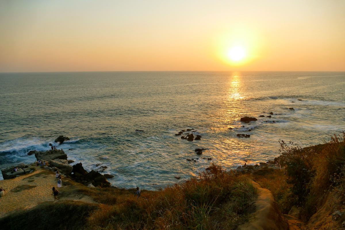 Puerto Escondido, Sonnenuntergang am Mirador Las Tortugas