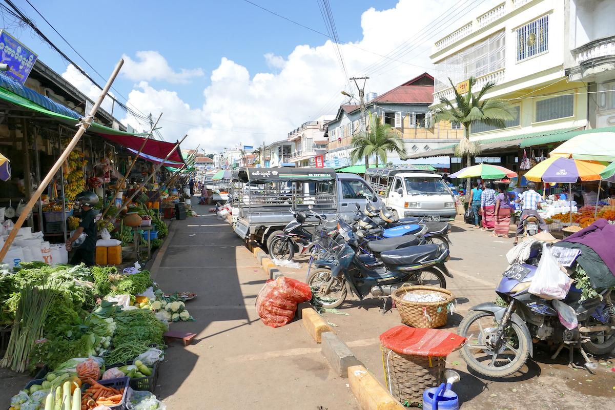 Pyin Oo Lwin, Central Market