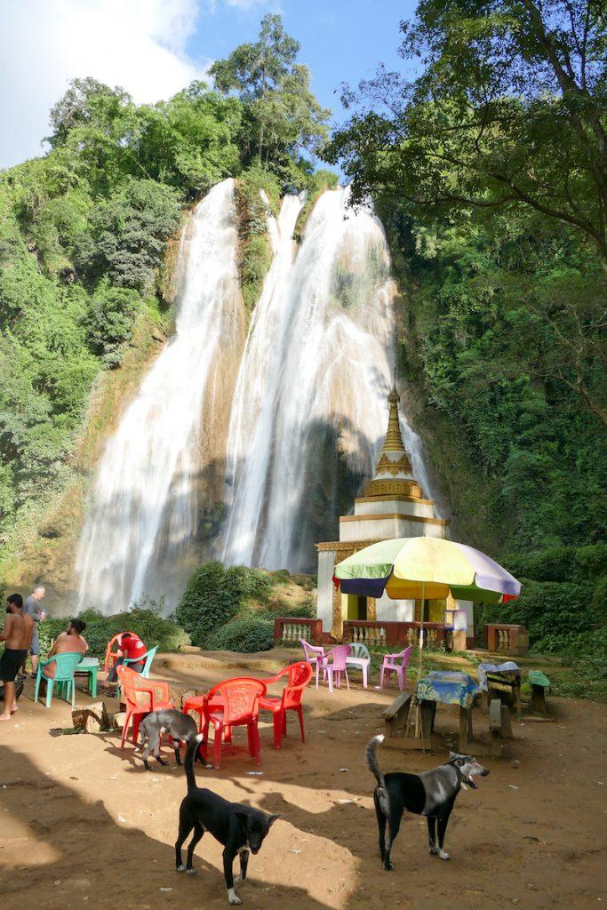 Pyin Oo Lwin, Dat Taw Gyaint Wasserfaelle, ein lohnenswertes Ziel