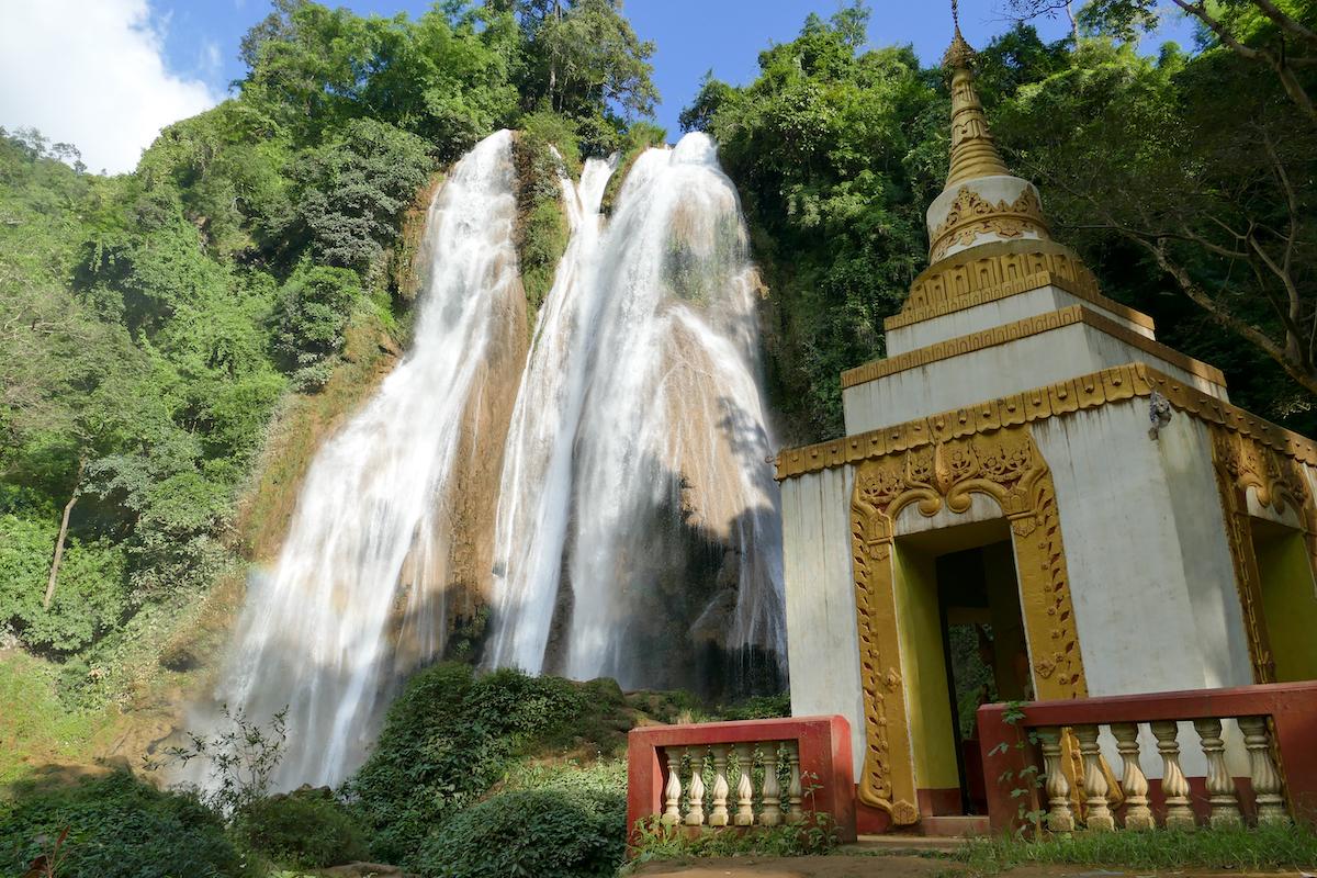 Pyin Oo Lwin, Dat Taw Gyaint Wasserfaelle