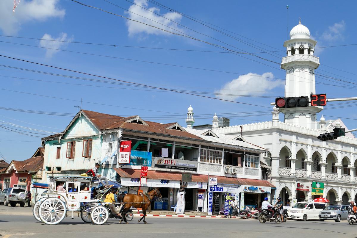 Pyin Oo Lwin, Downtown