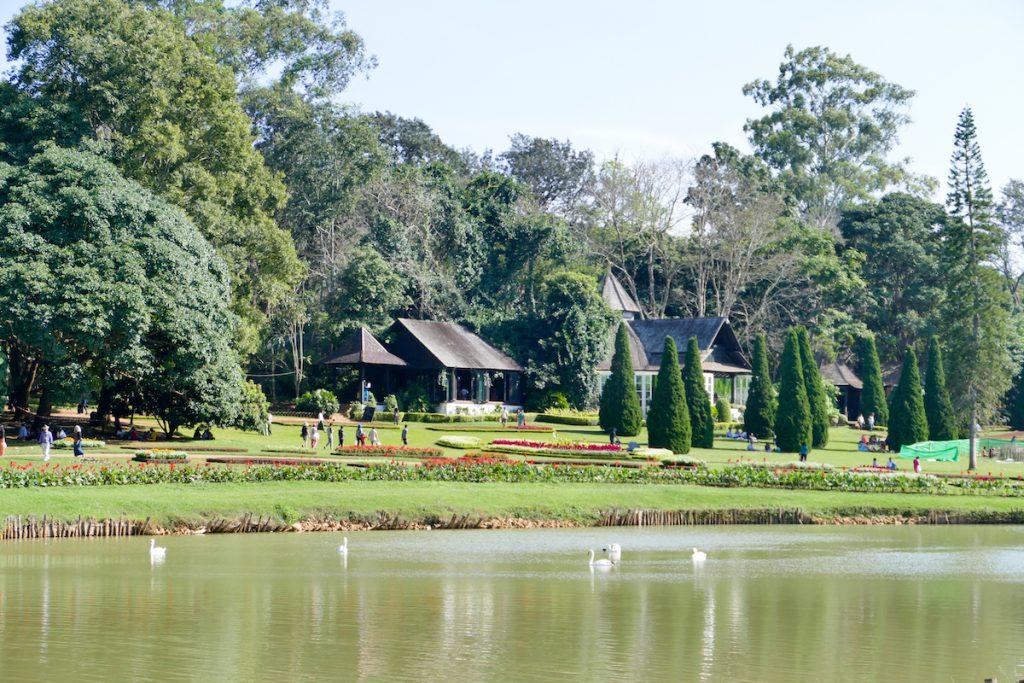 Pyin Oo Lwin, National Kandawgyi Botanical Gardens, ein Ort zum Relaxen