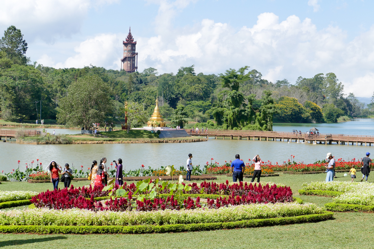 Pyin Oo Lwin, National Kandawgyi Botanical Gardens