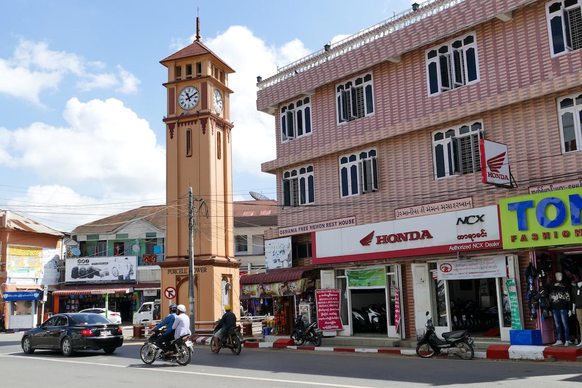 Pyin Oo Lwin, Purcell Clock Tower