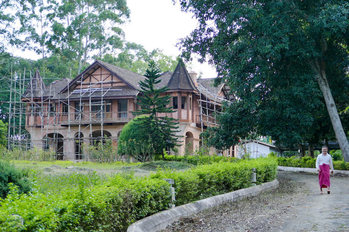 Pyin Oo Lwin, Thiri Myang Hotel, von 1904