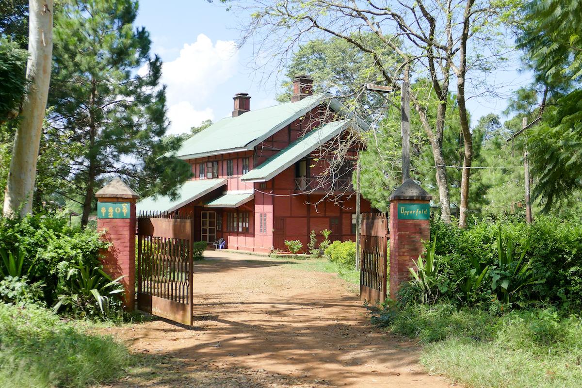 Pyin Oo Lwin, Villa aus der Kolonialzeit