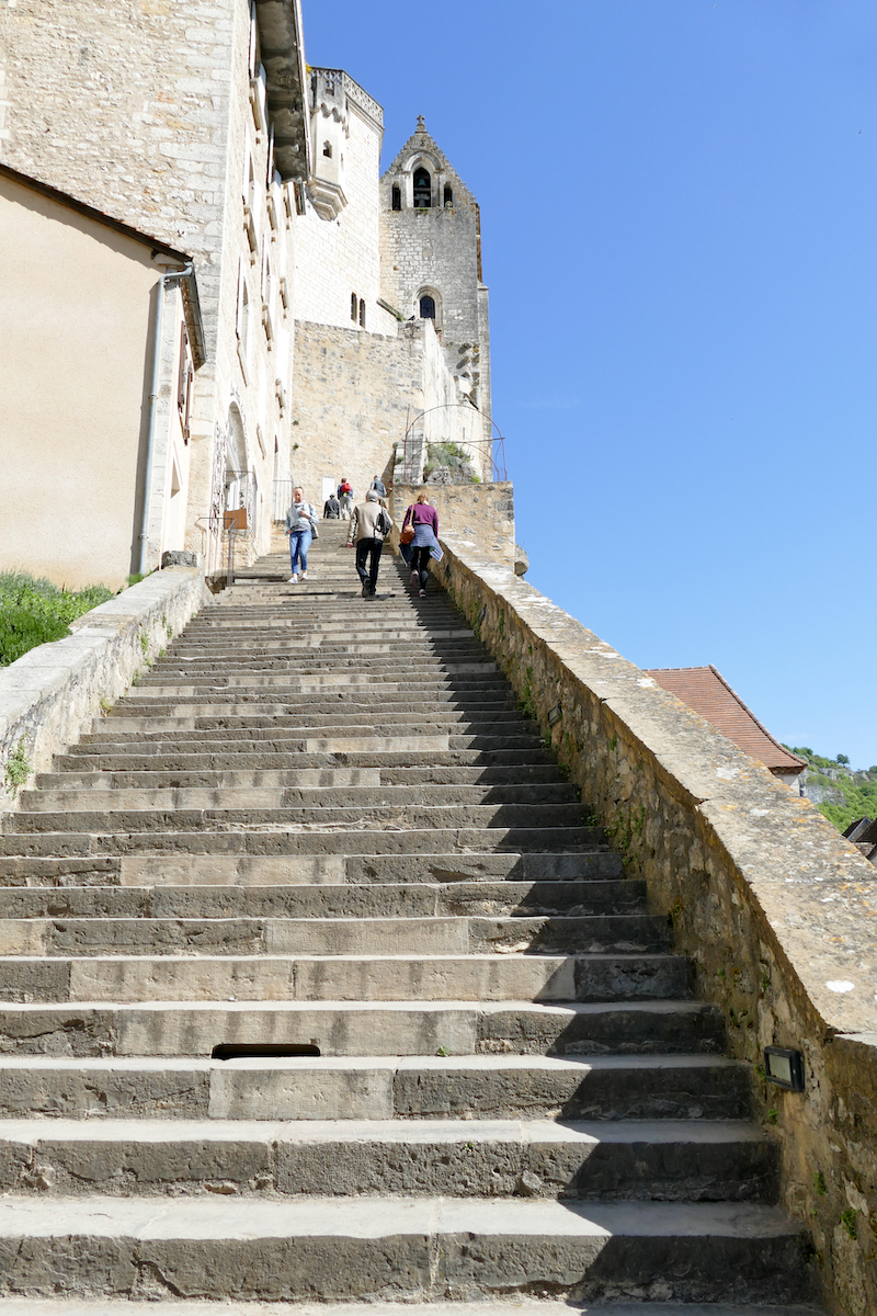Rocamadour Treppe