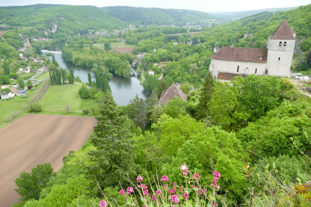Ausblick auf das Lot-Tal