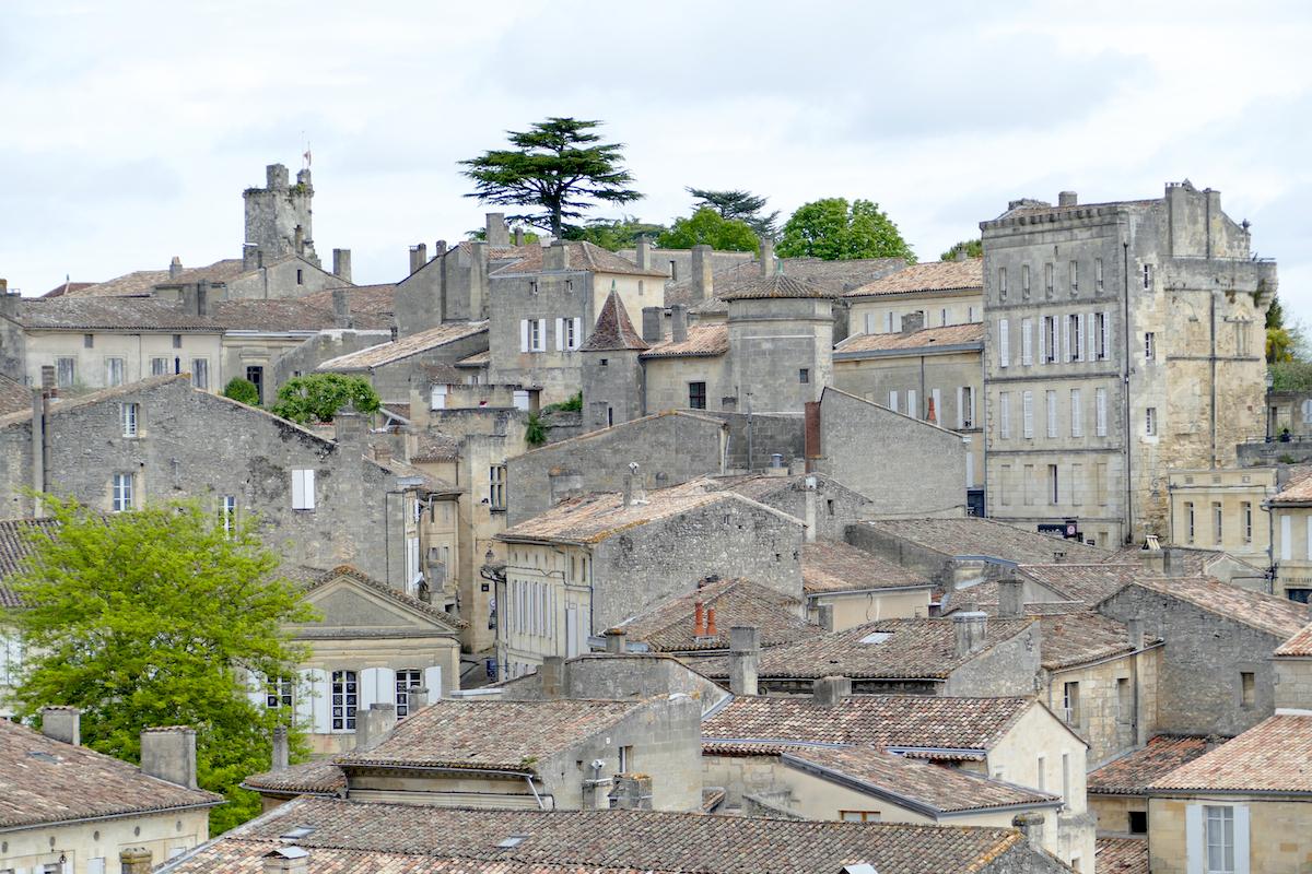 Blick auf die alte Stadt