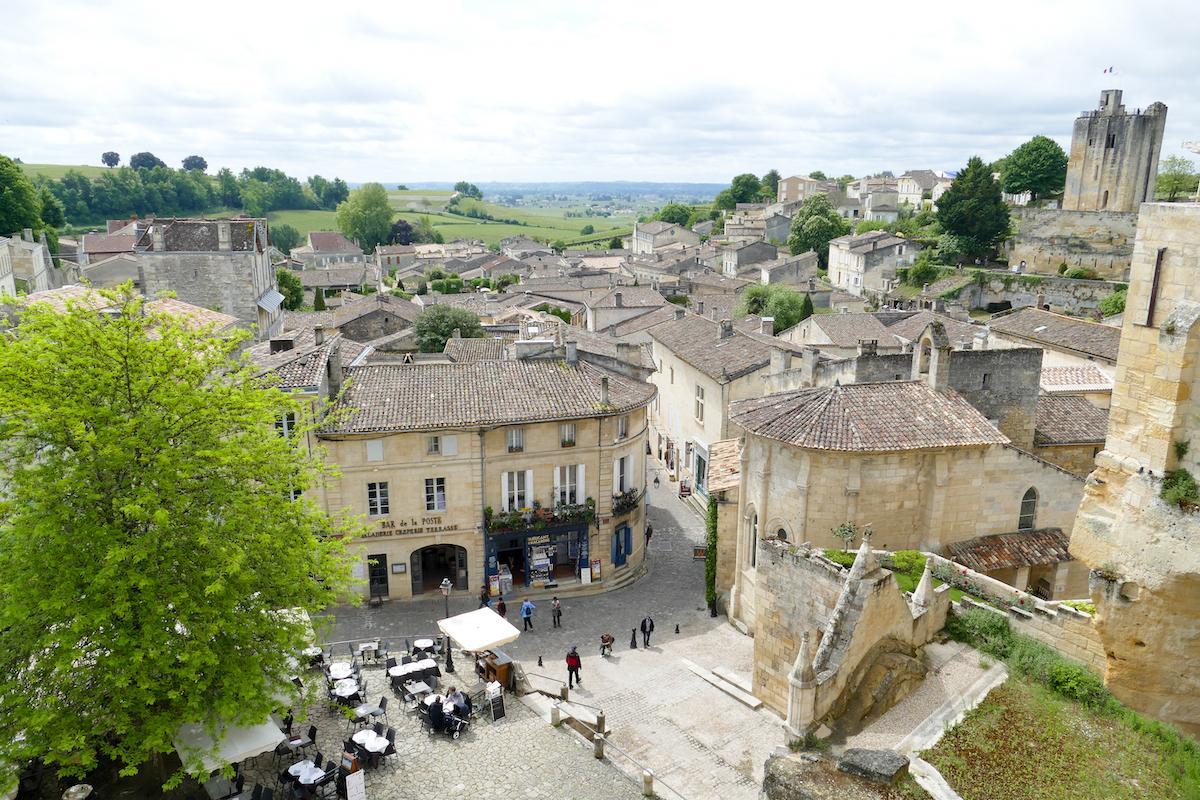 Blick auf Saint-Emilion