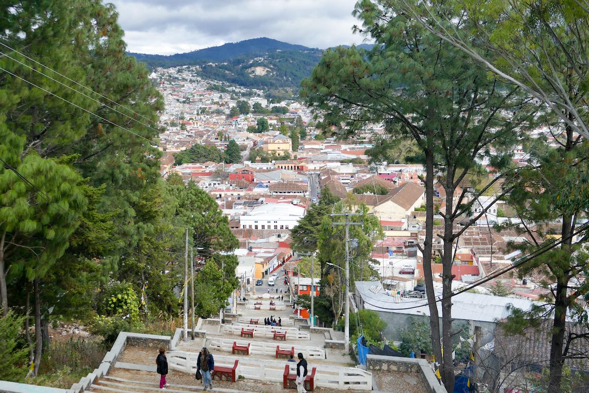 San Cristobal, Blick auf die Stadt von der Iglesia San Cristobal