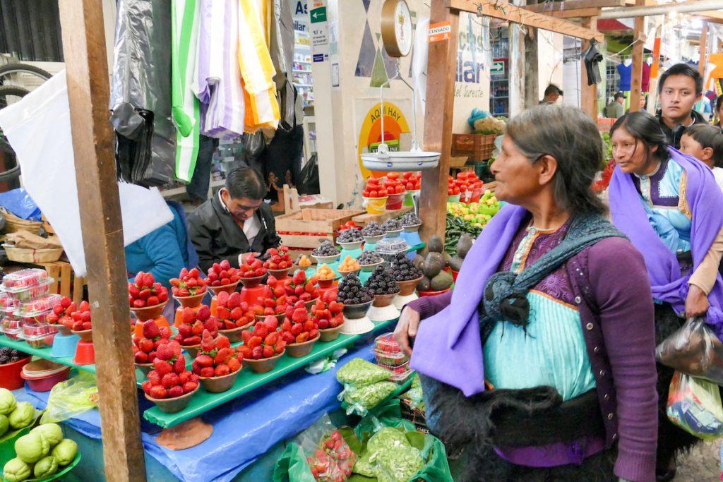 San Cristobal, Markt, wir lieben diese Maerkte