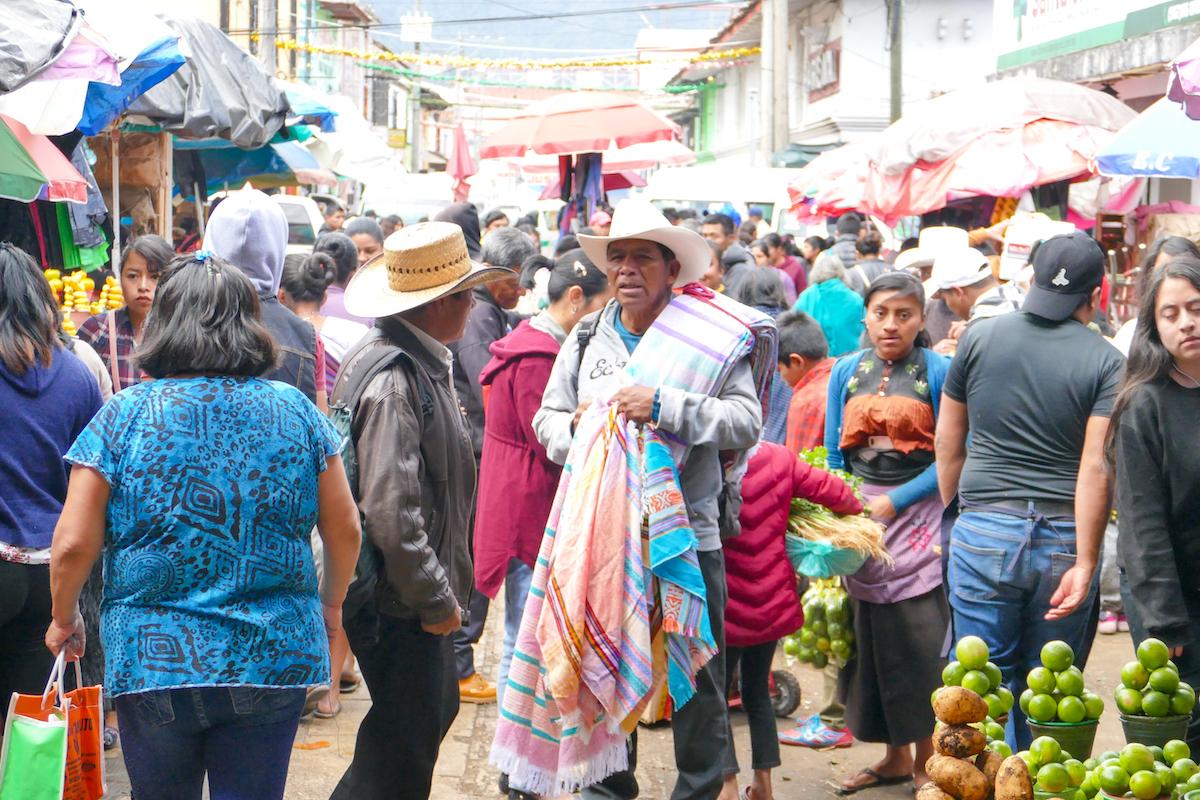 San Cristobal, Marktgedraengel