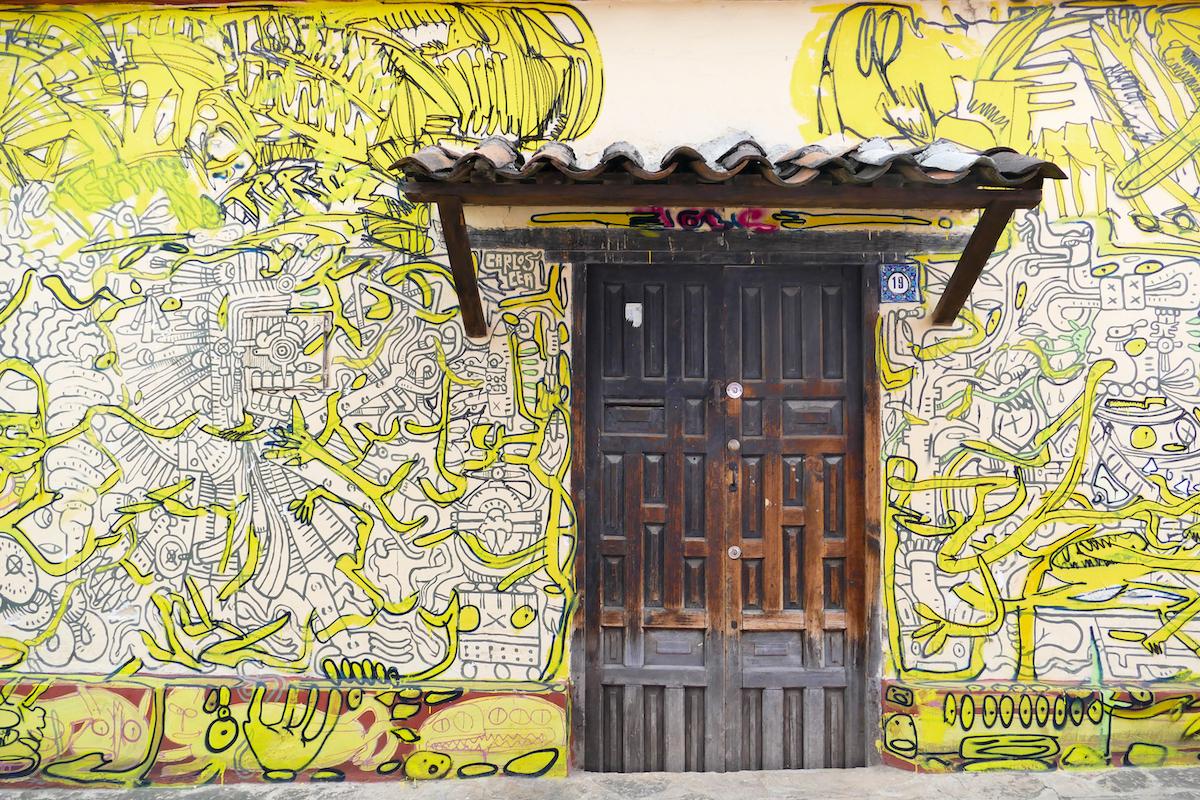 San Cristobal, Streetart
