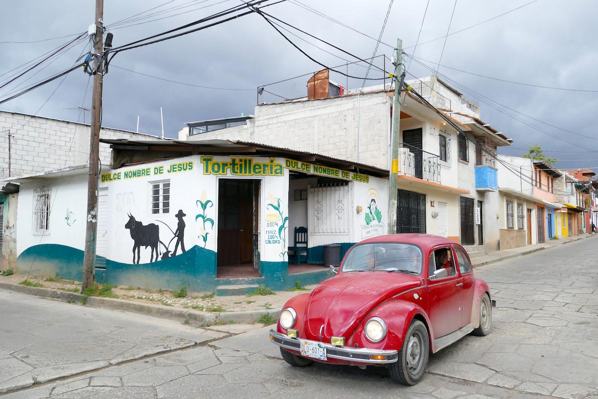 San Cristobal, VWs sind hier noch viele unterwegs