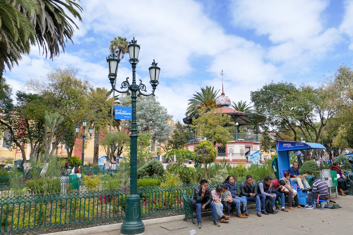 San Cristobal, der Zocalo